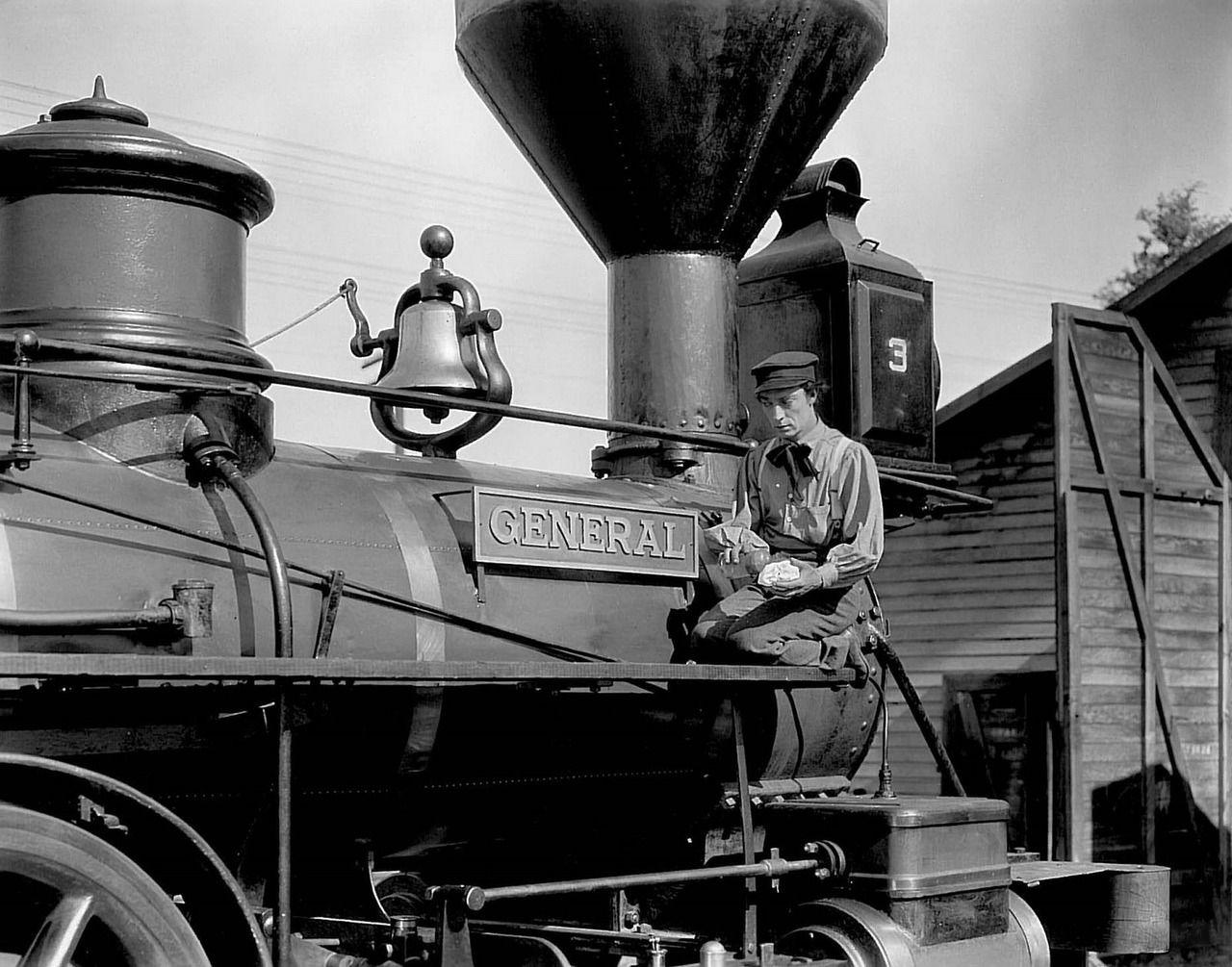 کاور فیلمThe General 1926