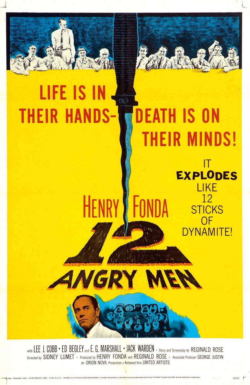کاور فیلم۱۹۵۷ ۱۲ Angry Men