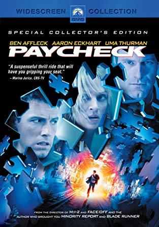 کاور فیلمPaycheck 2003