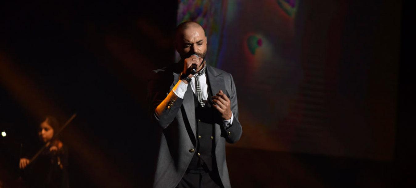 گزارش ویدیویی کنسرت حامی در هتل اسپیناس پالاس