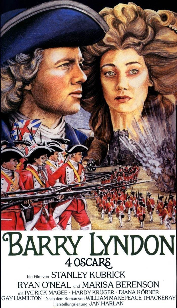 کاور فیلمBarry Lyndon 1975
