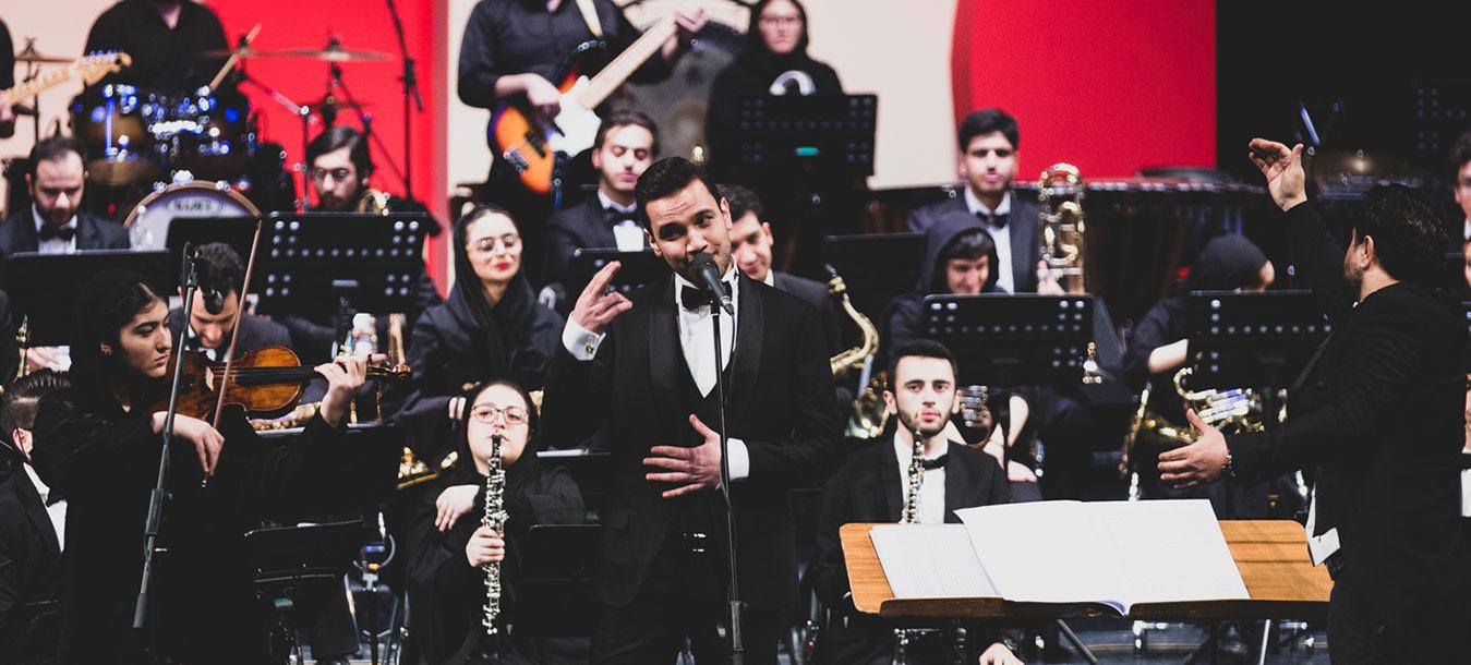کنسرت ارکستر بادی پارس – جشنواره موسیقی فجر