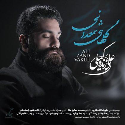 دانلود آهنگ گلهای شمعدانی از علی زندوکیلی